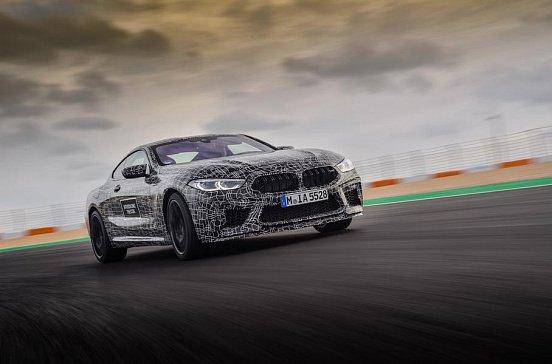 BMW подробнее рассказала о топовой «восьмерке» M8
