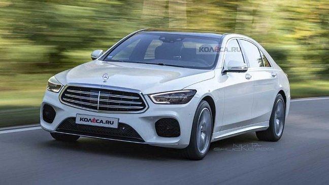 В Сети появился рендер на новое поколение Mercedes-Benz S-Class