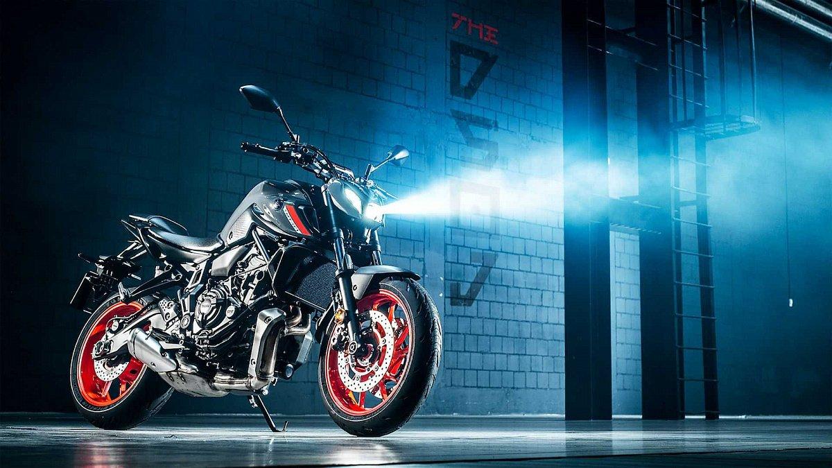Компания Yamaha представила новый мотоцикл MT-07
