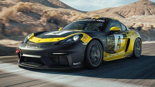 Porsche 718 Cayman GT4 Clubsport: трековый спорткар на 420 «лошадей»