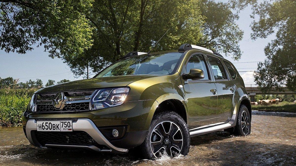 В РФ в 4 раза увеличились продажи дизельного Рено Duster