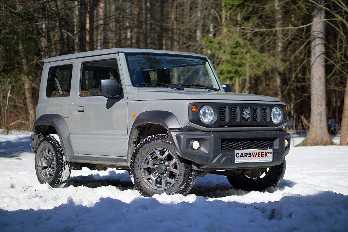 Мал да удал: тест Suzuki Jimny читать, обзор, тест, комплектации, характеристики авто, фото, цены в России на сайте Carsweek
