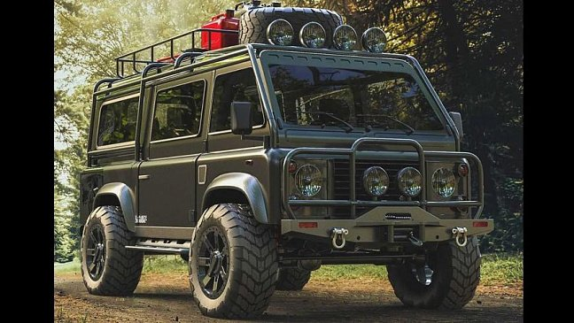 Внедорожник Land Rover Defender превратили в фургон мечты