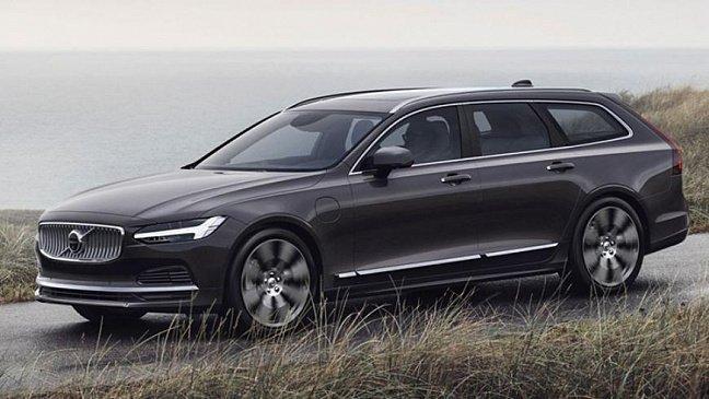В сети появились изображения нового кроссовера Volvo XC100