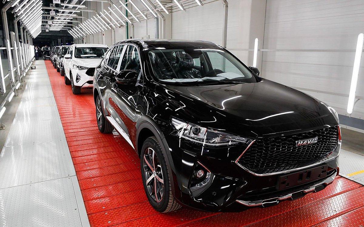 Российское предприятие Haval выпустило почти 6000 машин