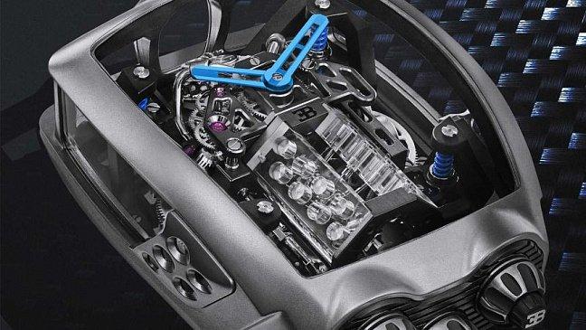 Bugatti отмечает 15-летие своего гиперкара Veyron