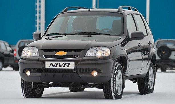 Внедорожник Chevrolet Niva прибавил в цене 7 - 9 тысяч рублей