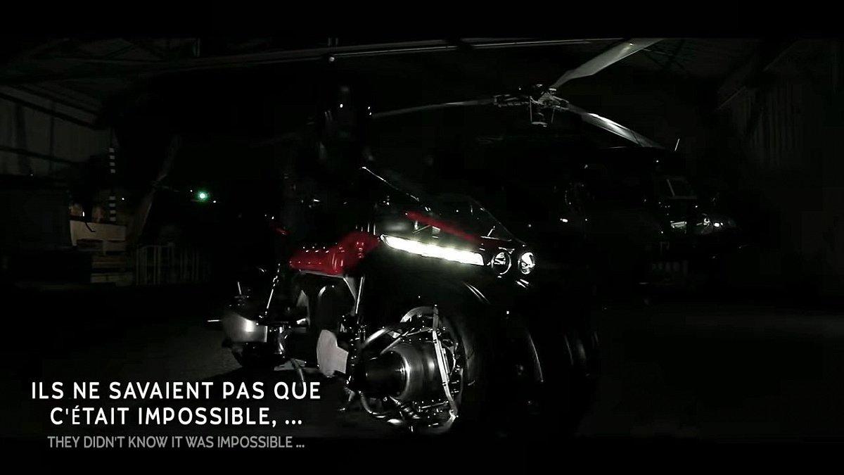 Lazareth анонсировала дебют четырехколесного летающего мотоцикла LMV