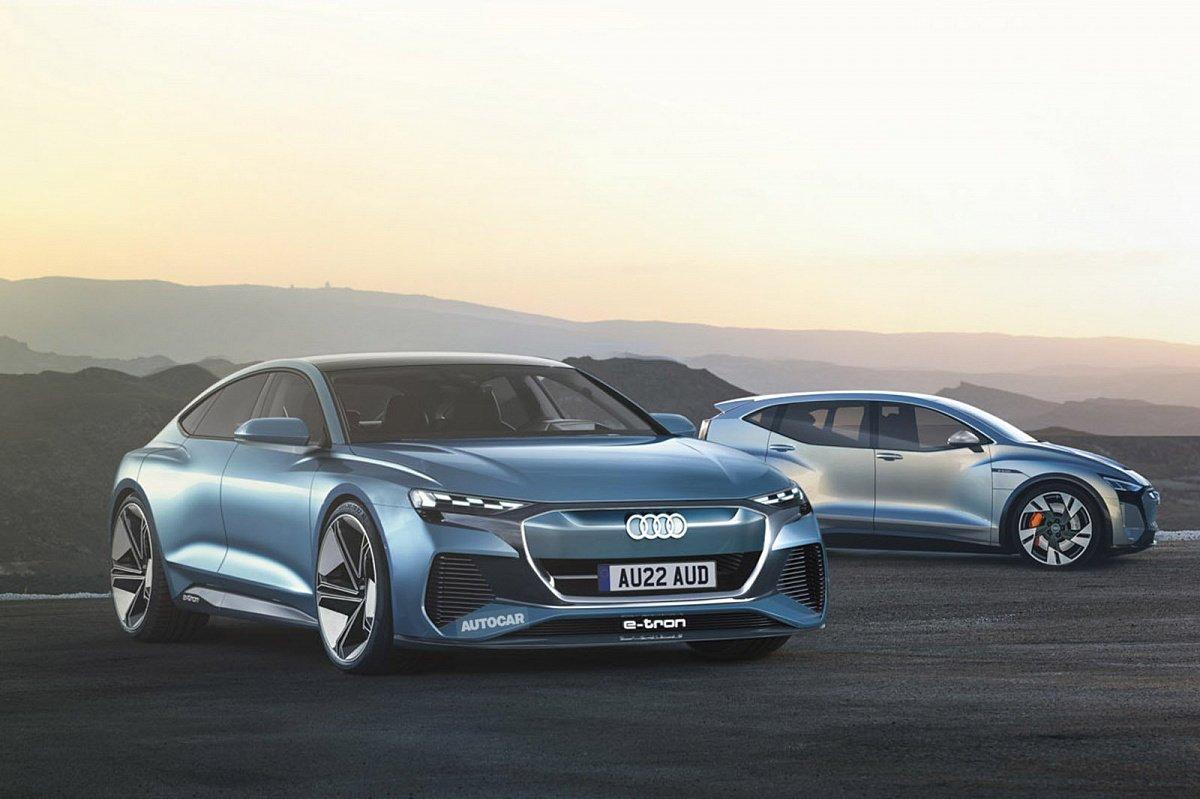 Audi представит электрический седан A9 E-tron в 2024 году