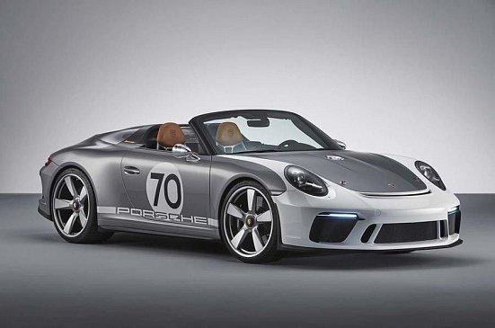 Porsche готовит новое спортивное купе 911 с мотором от GT3 и новым шасси