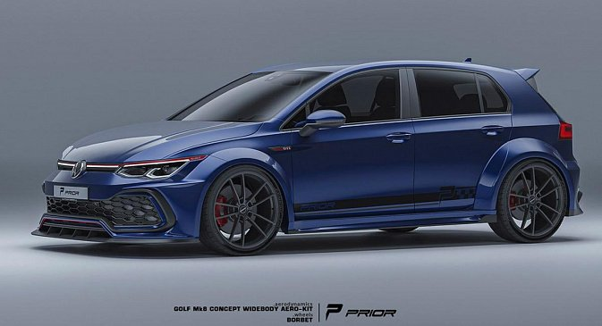 Prior Design представил рендер на чрезвычайно широкую версию Lexus LFA