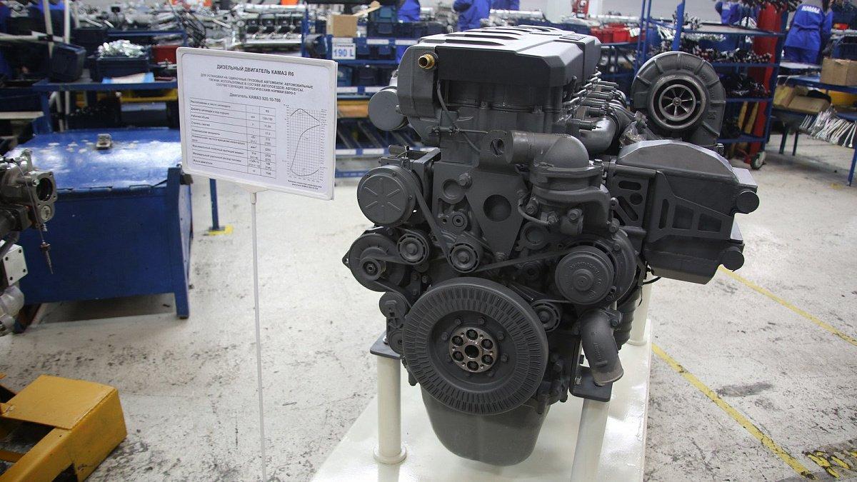 Качество нового мотора КАМАЗ Р6 будет навысоте