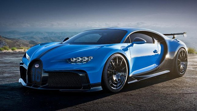 Bugatti представил шесть редчайших моделей на общую сумму 2 778 377 080 рублей