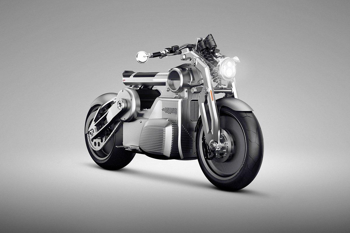 В РФ появились электрические мотоциклы ручной сборки