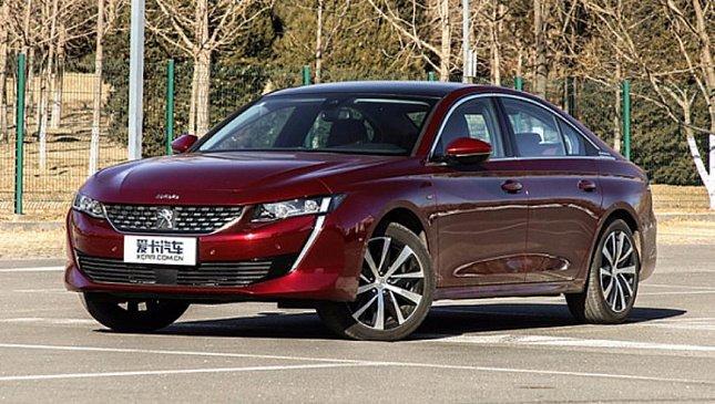 В Китае начали продавать удлиненную версию седана Peugeot 508