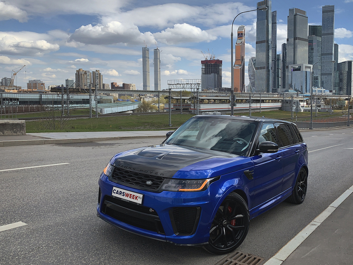 Концентрат: тест Range Rover Sport SVR читать, обзор, тест, комплектации, характеристики авто, фото, цены в России на сайте Carsweek