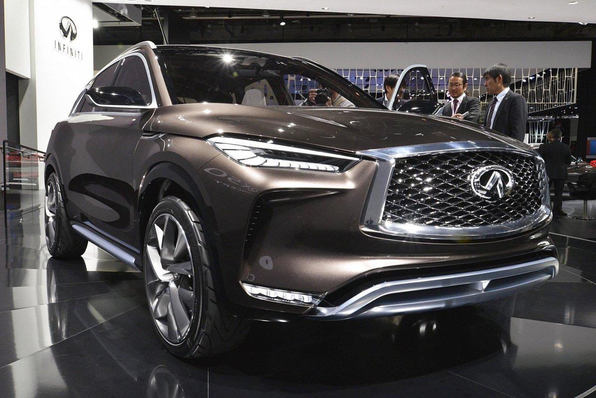 Новый Инфинити QX50 2019 получит революционный бензиновый мотор