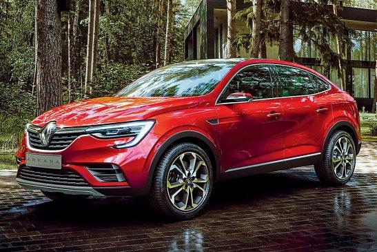 Renault локализует в России кроссовер Arkana на 66%