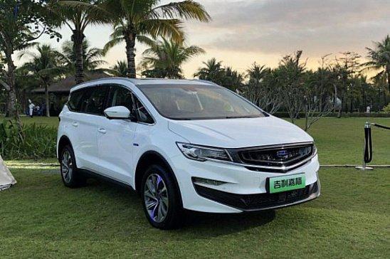 Новый минивэн Geely Jiaji выходит на домашний рынок с четырьмя моторами