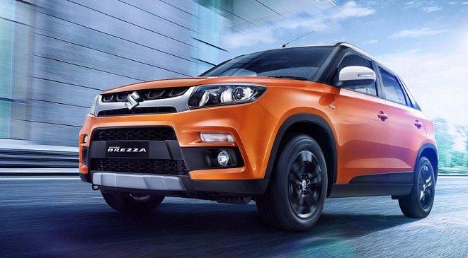 Обновленный кроссовер Suzuki Vitara Brezza встал на конвейер завода в Индии
