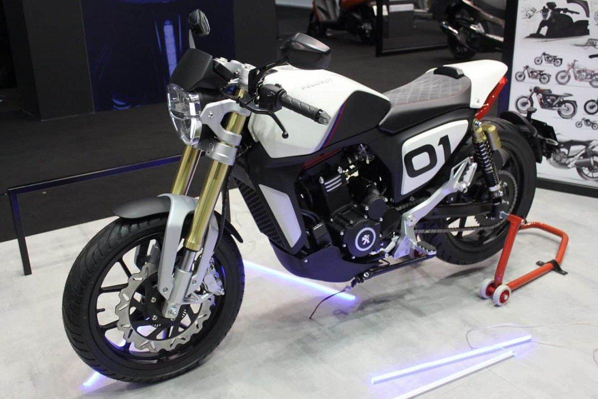 Компания Peugeot выпускает линейку мотоциклов
