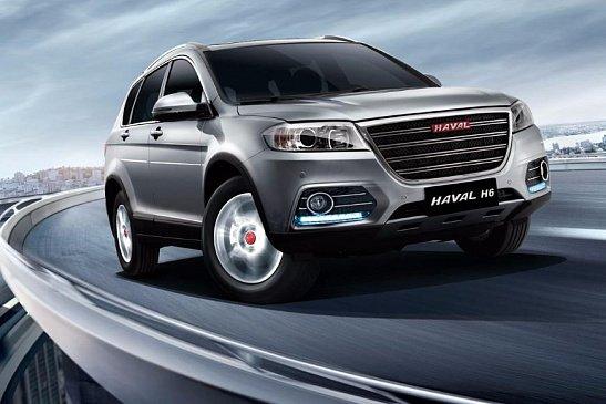Кросс-купе Haval F7x для России полностью рассекречен