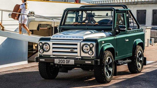 Новый внедорожник Land Rover Defender получит доступные и премиальные версии