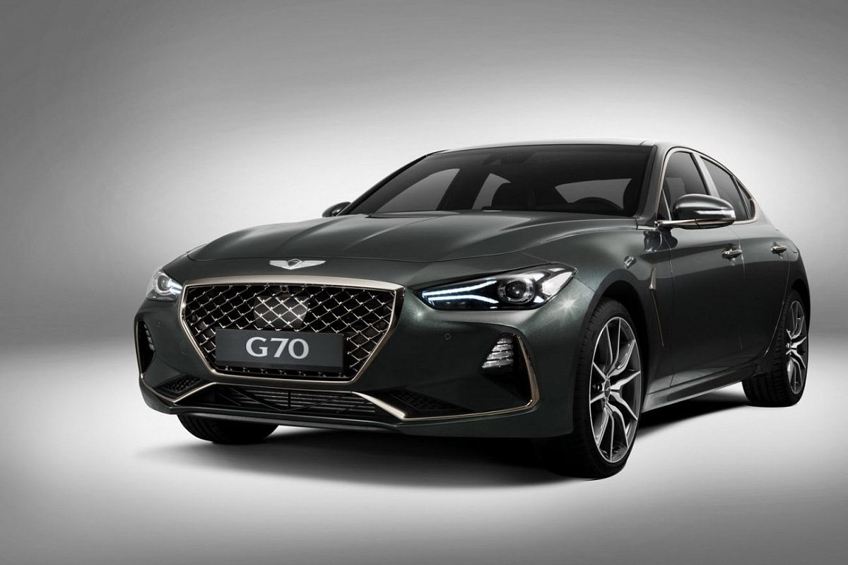 Российский Genesis G70 получил новую комплектацию