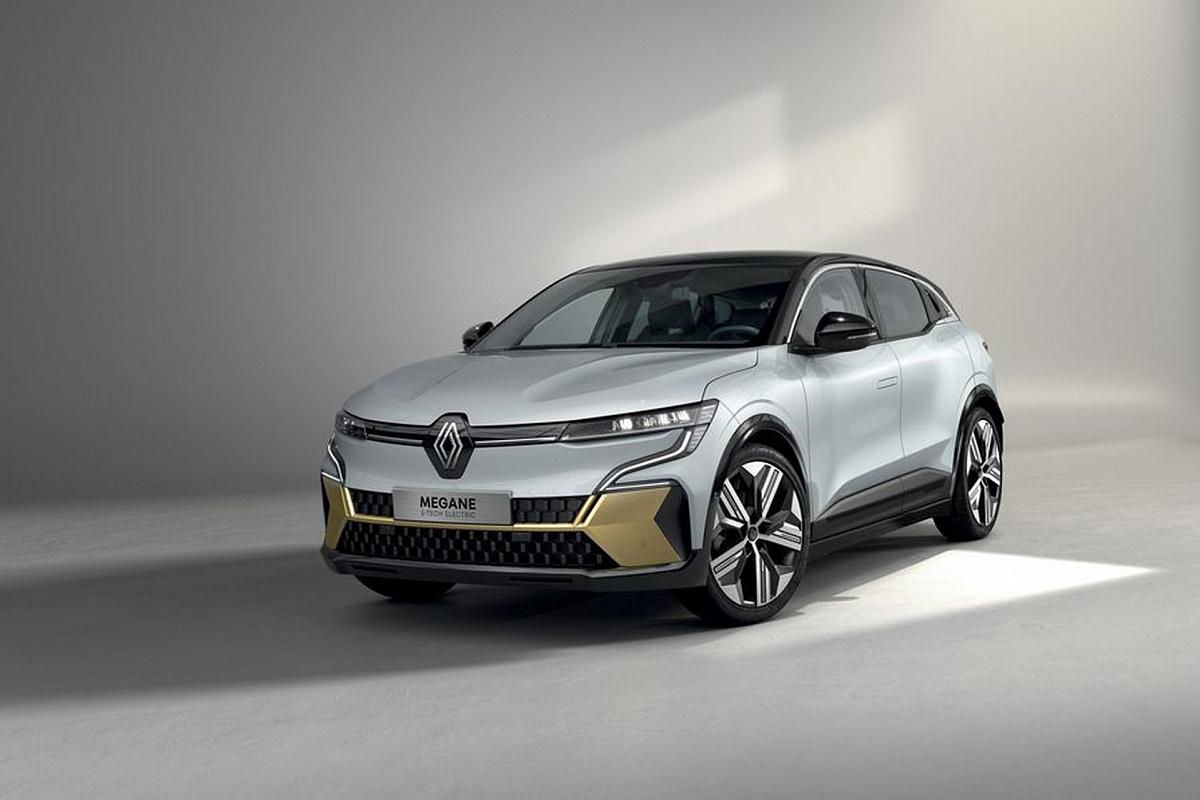 Новый электрический кроссовер Renault Megane E-Tech Electric презентовали перед дебютом