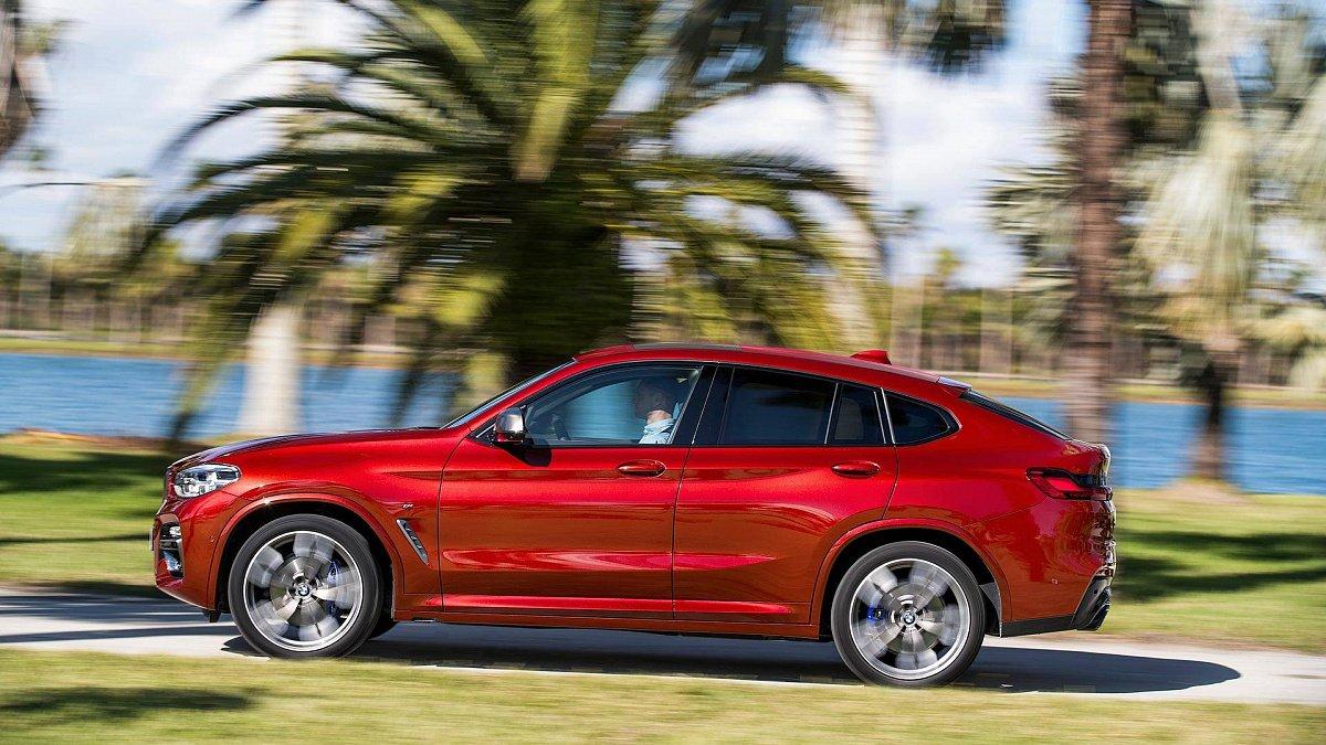 Стали известны подробности о новом BMW X4