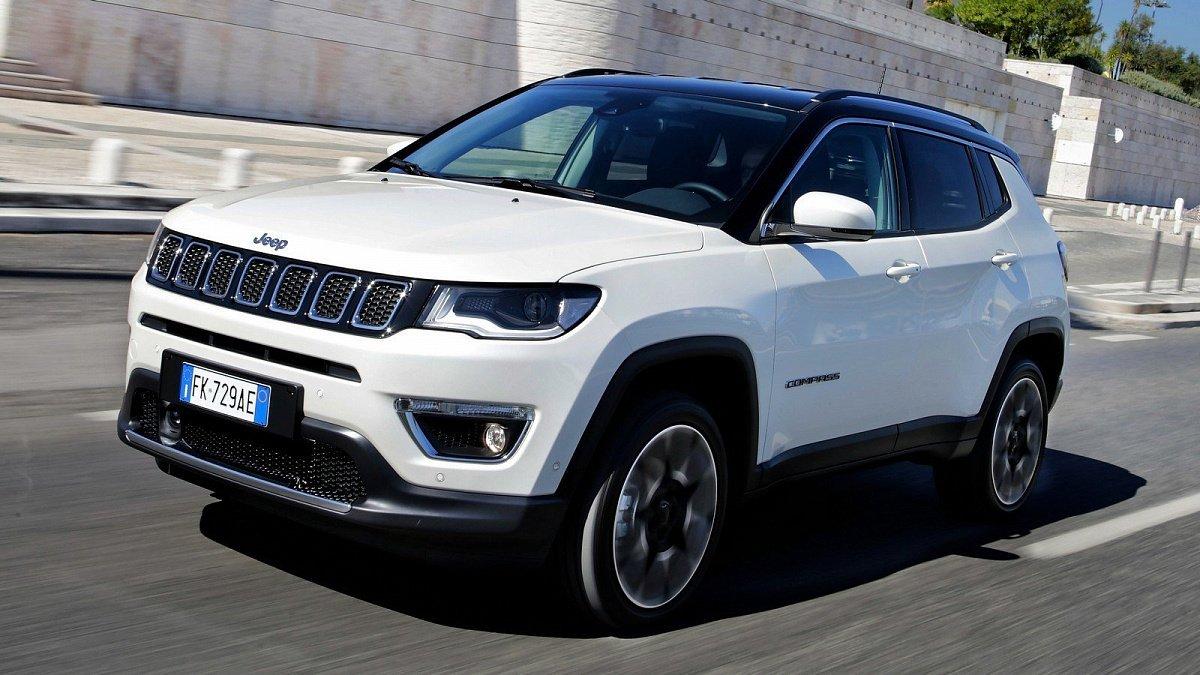 Новый Jeep Compass привезут в РФ  зимой