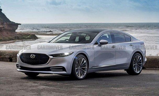 В Сеть попали любопытные рендеры новой Mazda 6