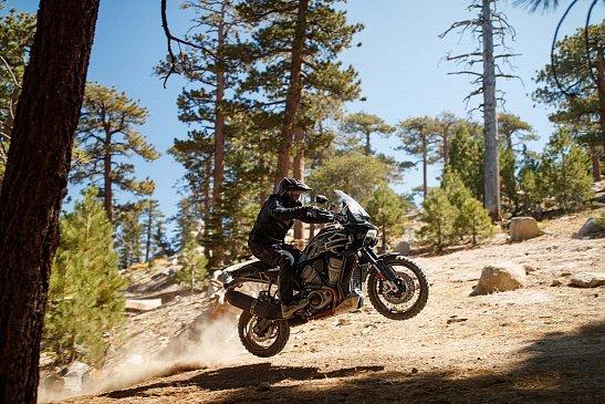 Здесь есть все, что известно о мотоцикле Harley-Davidson Pan America 2021