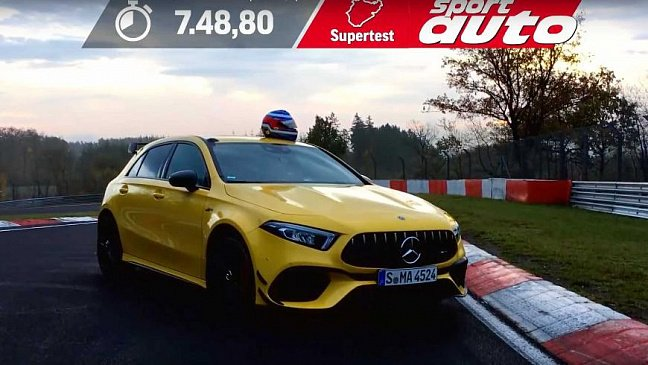 Прототип Mercedes-AMG E63 попался фотошпионам почти без камуфляжа