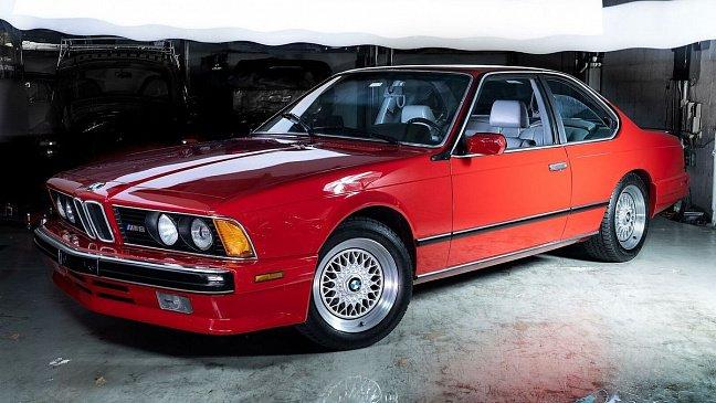 В продаже появился редкий BMW M6 с акульим носом