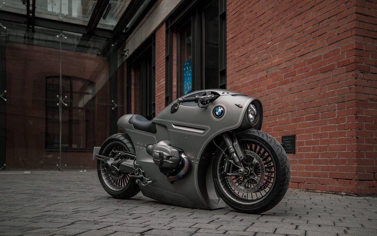 Российский мастер разработал байк по заказу BMW Motorrad
