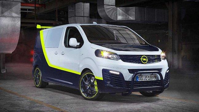 Opel представил крутой фургон Zafira Life O-Team