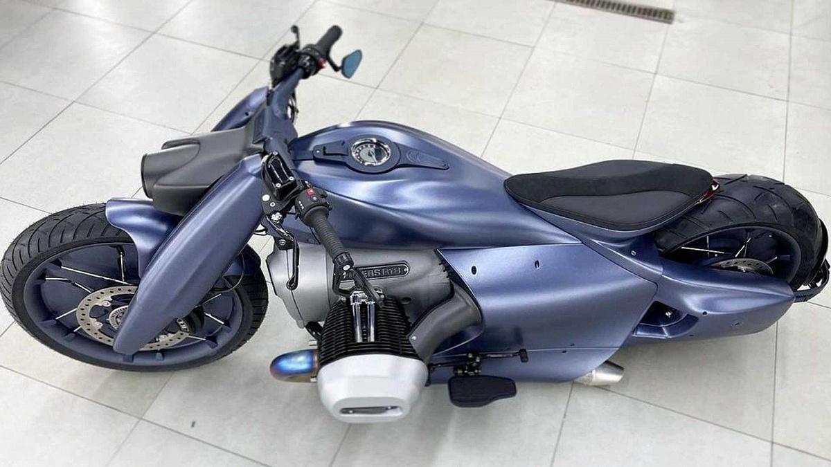 Zillers представил футуристичную сборку байка BMW R 18