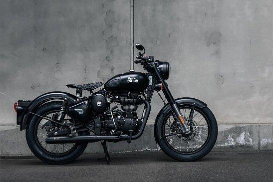 Мотоцикл Royal Enfield Himalayan представлен в приключенческой версии