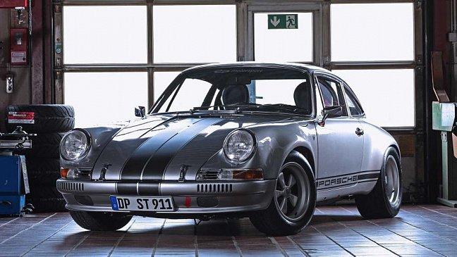 Рестайлинговый Porsche Panamera ST заметили на испытаниях