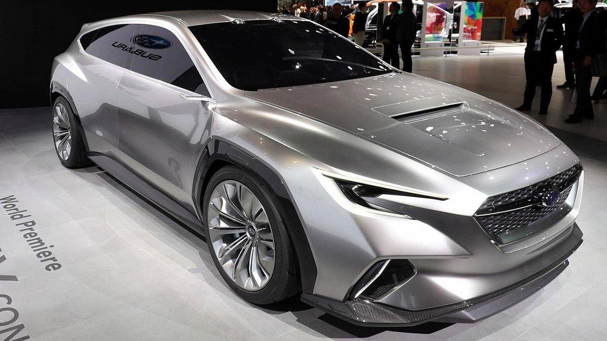 Subaru представила вЖеневе новый концепт универсала VIZIV Tourer