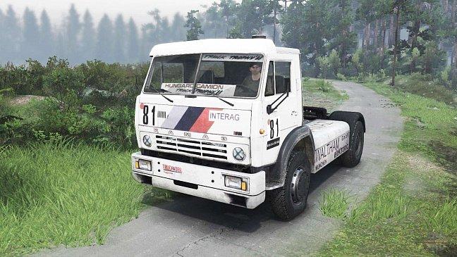 «КамАЗ» создает для «Дакара» новый грузовик с кабиной от Mercedes-Benz