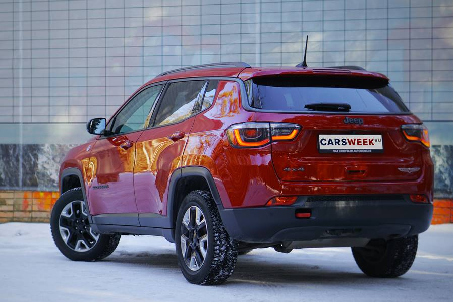 Тест-драйв Jeep Compass Trailhawk от CarsWeek.ru